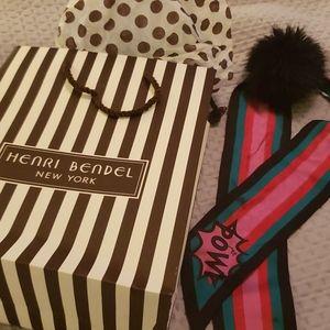Henri Bendel scarf/necktie/purse tie
